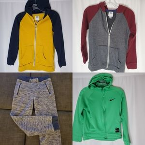 Boy's Hoodie and joggers bundle lot size large